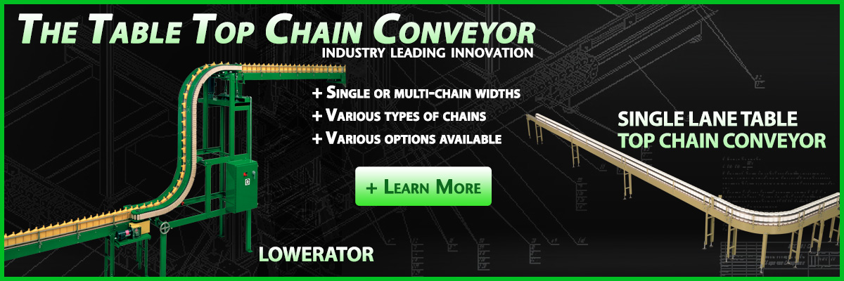 OMS makes powerful chain conveyors.