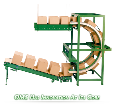 Ouellette Machinery Systems Conveyors are Customizable to your bottling needs.