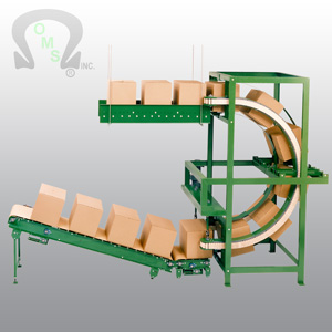 An OMS case conveyor system will save your company time and money