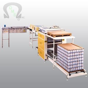 Ouellette Machinery Systems are the world leaders in depalletizing machinery