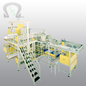 OMS Palletizers and bottling products are great for conveying and packing bottles