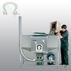OMS' Crown/Cap handling systems are easy to maintain and highly efficient.