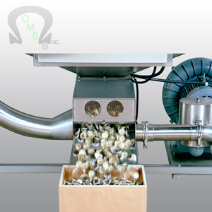 Contact Ouellette Machinery Systems for more information on Crown/Cap handling systems.