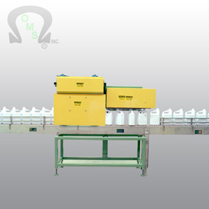 OMS Bottle Conveyors can be made in stainless steel